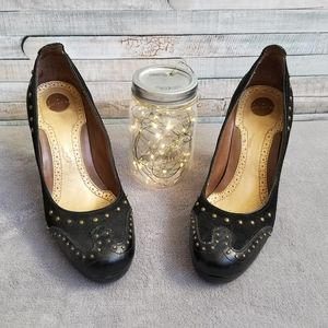 Sam Edelman Black Studded Heels